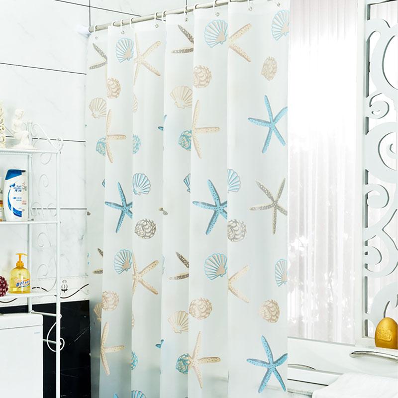 3D Zen Bamboo Fabric Waterproof Shower Curtain Set